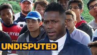 Download Antonio Brown responds to Shannon Sharpe's criticism | UNDISPUTED Video