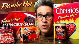Download Flamin' Hot Snacks Taste Test Video