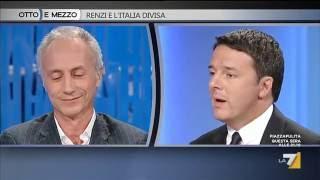 Download Renzi - Travaglio a ″Otto e mezzo″ - LA 7 - 22 Settembre 2016 Video