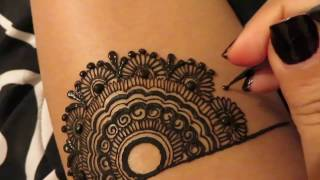 Download Simple Henna Design Video
