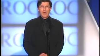 Download Robbie Robertson inducts Eric Clapton Rock and Roll Hall of Fame inductions 2000 Video