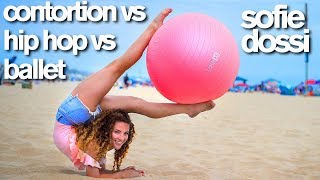 Download Contortion vs HipHop vs Ballet (Sofie Dossi, Matt Steffanina, Kylie Shea) Video