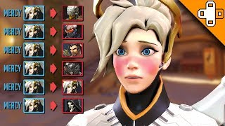 Download WHAT HAPPENS WHEN MERCY SNAPS! Overwatch Funny & Epic Moments 642 Video