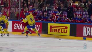 Download VM 2017 - Alexander Edler tacklar 3 ryska spelare Video