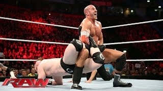 Download Cesaro vs. Sheamus - WWE World Heavyweight Championship Tournament Match: Raw, November 9, 2015 Video