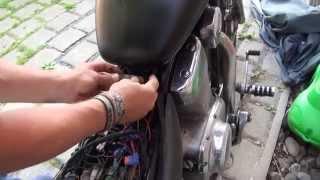 Download Suzuki Intruder VS 1400 removing Tank removal Video