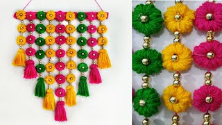 Download DIY wall Hanging out of Wool /Home Decoration Idea Video