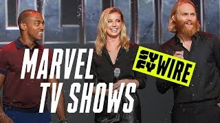 Download What If... We Spoke With Marvel Disney+ Stars At D23 Expo 2019 | D23 2019 | SYFY WIRE Video