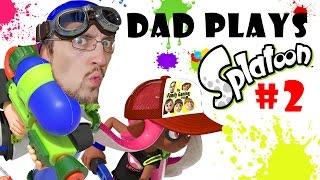Download Lets Play SPLATOON Part 2: TURF WAR!! Dad's not so Bad! (FGTEEV Gameplay) Video