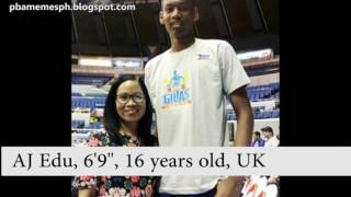 Download 10 Tallest Under-18 Filipino Basketball Players Video