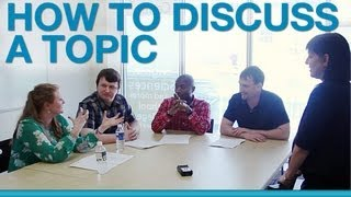 Download How to discuss a topic in a group Video