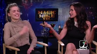 Download Amber Heard and Andie MacDowell interview Magic Mike XXL Video