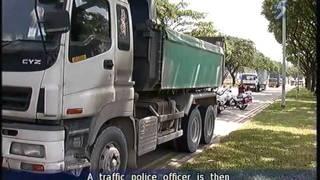 Download Traffic Police crackdown on speeding heavy vehicles - 13Jul2011 Video
