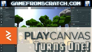 Download PlayCanvas Turns 1.0! Open Source 3D HTML5 Game Engine Is All Grown Up Video