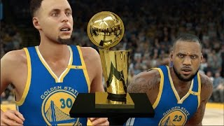 Download Would The Golden State Warriors Win A Title Every Time If They Got Lebron James? NBA 2K17 Challenge Video