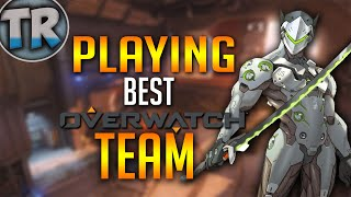 Download Playing The #1 Ranked Team in Overwatch! [PS4] Video