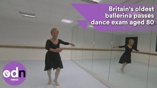 Download Britain's oldest ballerina passes dance exam aged 80 Video