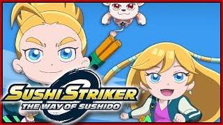Download 2ND INTRO OPENING MOVIE! Sushi Striker The Way of Sushido Switch Demo Gameplay - DarkLightBros Video