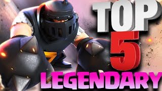 Download Top 5 Best Legendary Cards In Clash Royale After Mega Knight Update Video