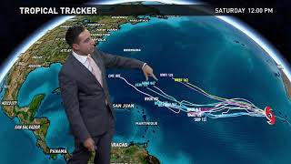 Download Tropical Storm Irma forms in the eastern Atlantic Video