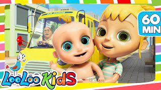 Download The Wheels On The Bus - Cool Songs for Children | LooLoo Kids Video