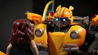 Download BUMBLEBEE in LEGO TRAILER - TRANSFORMERS Stop Motion Animation Video