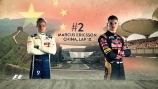 Download Top Five Overtakes Of 2015: Max Verstappen Video