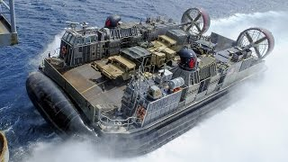 Download Assault Hovercraft in Action (LCAC) Video