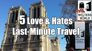 Download Last-Minute Travel: 5 Love & Hates of Spontaneous Travel Video