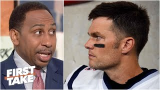 Download Stephen A. expects Tom Brady to stay with the Patriots | First Take Video
