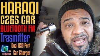 Download Haraqi Car Bluetooth FM Transmitter C26S 📻 : LGTV Review Video