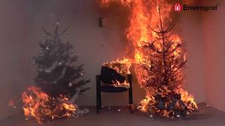 Download Christmas Tree Fire Demonstration Video