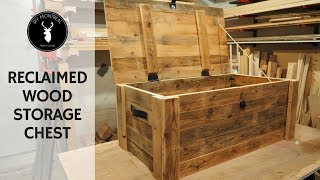 Download Build a storage chest from reclaimed wood Video