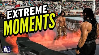 Download WWE 2K17 EXTREME MOMENTS! (PS4 & XBOX ONE) Video