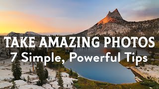 Download 7 Powerful Photography Tips for Amazing Photos Video