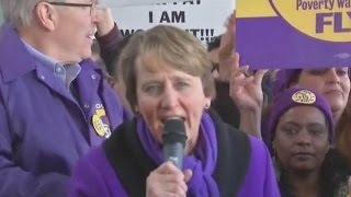 Download O'Hare Airport workers to strike News Conference on Walk Off Strike Video