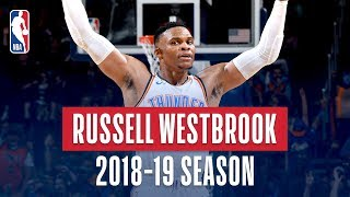Download Russell Westbrook's Best Plays From the 2018-19 NBA Regular Season Video