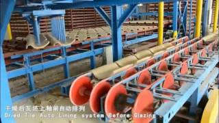 Download WEIDA Automatic Clay Roofing tiles Manufacture Machine for Complete Plant Video