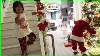 Download Ryan Caught Santa Claus on Christmas!! Video