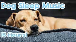 Download Dog Sleep Music - 15 hours of Relaxing Melodies to keep your dog asleep! 🐶 Video