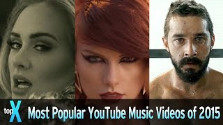 Download Top 10 Most Popular YouTube Music Videos of 2015 - TopX Video