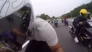 Download Yamaha Y15ZR highway ride malaysia style Video