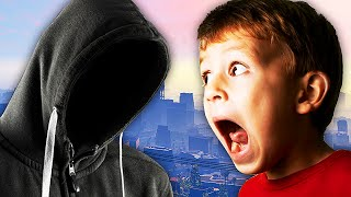 Download EXTREMELY SCARY STALKER TROLLING ON GTA 5! - (Almost Got ARRESTED!) - LTLICKME Video