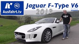 Download 2013 Jaguar F-Type V6 - Probefahrt und erster Test / Review Video