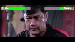 Download The Karate Kid (2010) - Mr. Han vs. Master Li [WITH HEALTH BARS] Video