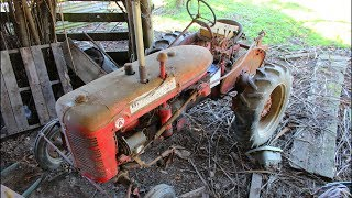Download 74 year old vintage tractor left in a barn for 20 years... Will it start?? Video