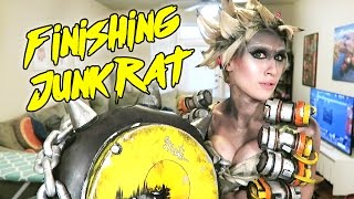 Download Finishing my Junkrat Cosplay [Overwatch] Video