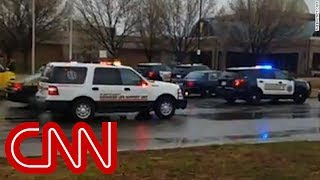 Download Student speaks to CNN while on lockdown Video