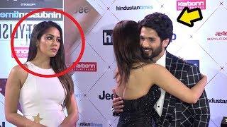 Download Shahid Kapoor's Wife Meera Rajput's JEALOUS Reaction When Shahid Hugs HOT Vani Kapoor Video