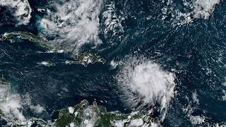 Download Tropical Storm Dorian threatens Puerto Rico Video